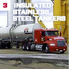 Insulated Stainless Steel Tankers